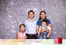 Anh & Quynh Wedding by Printaphy Photobooth Ho Chi Minh Sai Gon Vietnam by Printaphy Photobooth Vietnam
