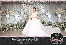 Nam Nguyen & Quynh Ho Wedding by Printaphy Photobooth Vietnam by Printaphy Photobooth Vietnam