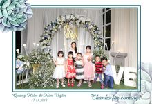Ngan & Hien Wedding by Printaphy Photobooth Ho Chi Minh Sai Gon Vietnam by Printaphy Photobooth Vietnam