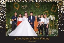Phuong & Nghia Wedding by Printaphy Photobooth Ho Chi Minh Sai Gon Vietnam by Printaphy Photobooth Vietnam