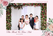 Thanh & Anh Wedding by Printaphy Photobooth Ho Chi Minh Sai Gon Vietnam by Printaphy Photobooth Vietnam