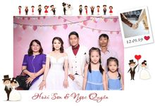 Son & Quyen Wedding by Printaphy Photobooth Ho Chi Minh Sai Gon Vietnam by Printaphy Photobooth Vietnam