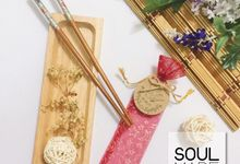 Wedding Chopstick by Soulmade Design
