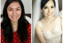Wedding Welly & Stefany by siska make up artist