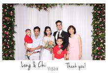 Tan Long & Bao Chi Wedding by Printaphy Photobooth Vietnam by Printaphy Photobooth Vietnam