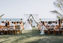 Simple Tropical Summer Wedding at Taman Ahimsa Bali by Silverdust Decoration