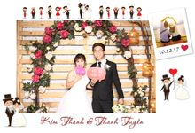Kim Thanh & Thanh Tuyen Wedding by Printaphy Photobooth Vietnam by Printaphy Photobooth Vietnam