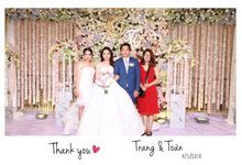 Trang & Toan Wedding by Printaphy Photobooth Vietnam by Printaphy Photobooth Vietnam