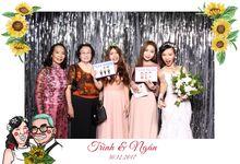 Trinh & Ngoc Wedding by Printaphy Photobooth Vietnam by Printaphy Photobooth Vietnam