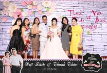 Viet Bach & Thanh Thao Wedding by Printaphy Photobooth Vietnam by Printaphy Photobooth Vietnam