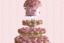 Pinky Wedding Cupcake by Twist Cup Cake