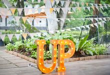Romantic Backyard UP Inspired by Wedding Diary: Penning Your Love Story