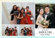 Ngan & Linh Wedding Photo Booth by Wefiebox by WefieBox Photobooth Vietnam