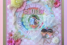 Scrapbook in Frame by Gratia Handicraft