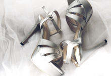 Platform heels by Wen Custom & Bridal Shoes
