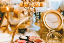 Wedding Dessert Reception by Sunlife Pastries