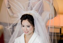 Grace Wedding. Natural & Korean Style Make Up by Marsia Yulia Signature. Natural and Korean Make Up Specialist.