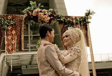 Gammi & Dicky by Glows Wedding Planner