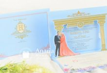 Iid & Abas Wedding Invitation by Anaria Souvenir Pernikahan