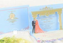 Iid & Abas Wedding Invitation by Anaria Wedding