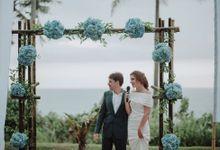 Wedding Hadrien & Thais by Lalang Beach House