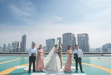 The Wedding of Aurel and Jesvit by MERCANTILE PENTHOUSE WEDDING