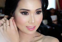 Makeup Wedding Radit & Prisca by glowyblush