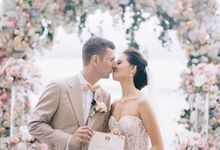 The Wedding of Martin & Diana by KAMAYA BALI