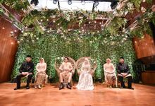 PRILLA & IQBAL - WEDDING RECEPTION by Promessa Weddings