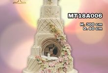 Montile Wedding Cake by Montile Wedding Cake
