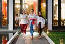 Michelle & Tri Engagement at Seribu Rasa Menteng by Warna Project