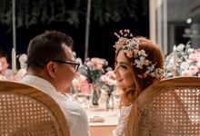 Love's in the air, Anang & Ashanty Wedding Anniversary in Bali by Varawedding