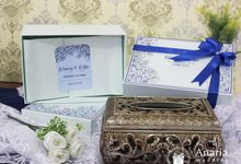 Danvy & Ajie Wedding Favors by Anaria Souvenir Pernikahan