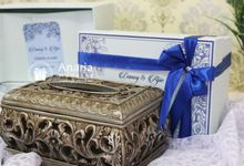 Danvy & Ajie Wedding Favors by Anaria Wedding