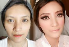 Wedding Maria by @makeupby_yovita