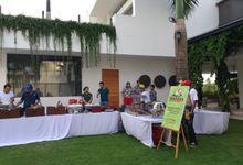 Birthday Celebration at Palm House , canggu by Wahaha Pork Ribs