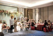 The Engagement of Claudius and Yohana by Yogyakarta Marriott Hotel