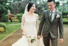 The Wedding of  Katty Handani by Mfreshflowers