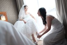 Wedding of Dennison and Jessica by Elina Wang Bridal