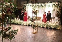 Intimate wedding Newira and Honey at Hotel Kempinski Plataran Ramayana by Fiori.Co