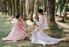 Botanical wedding of Alice and Ganish by Florencia Augustine