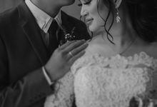 Wedding of I & D by Elina Wang Bridal