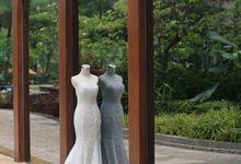 Wedding of David & Dini by Elina Wang Bridal