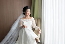 Wedding Of Rendy and Efi - Morning Sessions by Elina Wang Bridal