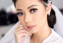 Wedding makeup for Ms Syeva by Silvia Jonathan