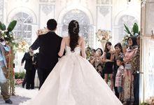 Kiki & Candy  Wedding Day by Elina Wang Bridal