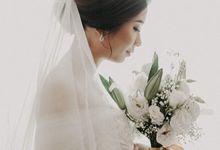 Wedding of Anton & Ririe by Elina Wang Bridal