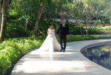Wedding of Evaneetha by Elina Wang Bridal