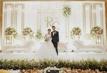 Wedding of Robby & Caroline by Elina Wang Bridal