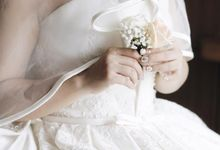 Wedding of Calvin & Hanna by Elina Wang Bridal